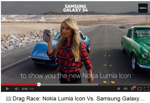 Lumia Icon vs SGS 4