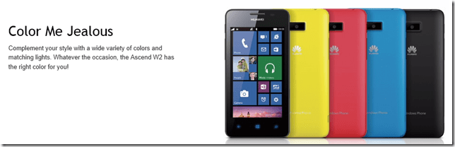 Huwaie-Windows-Phone