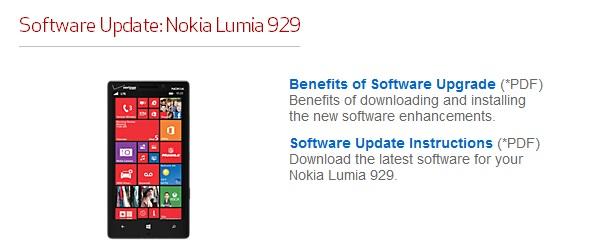 Lumia Icon update