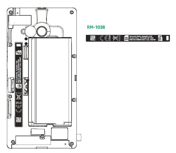 Lumia 730 FCC