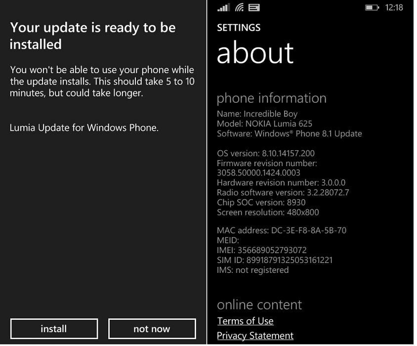 Lumia 625 GDR1