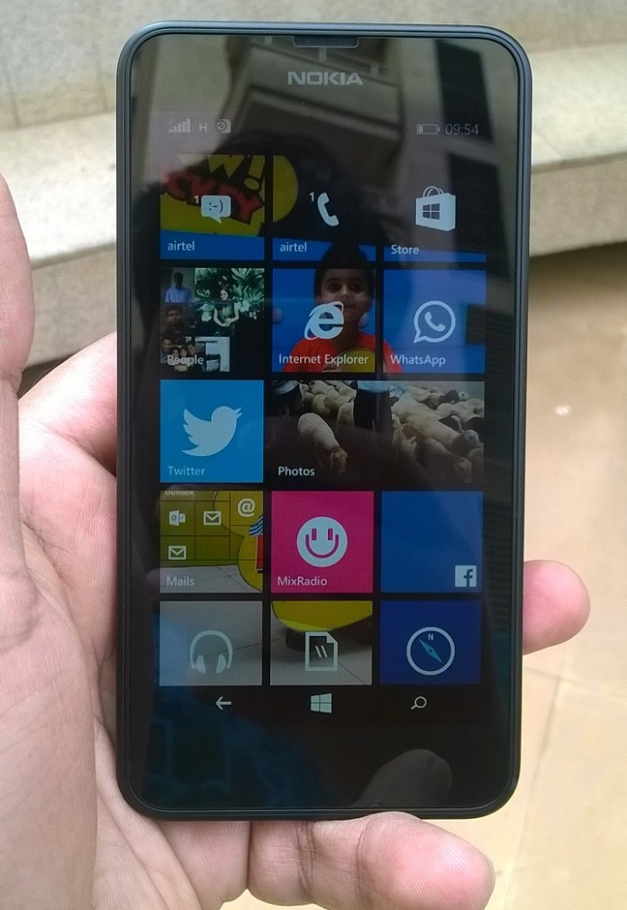 Lumia 639 outdoors