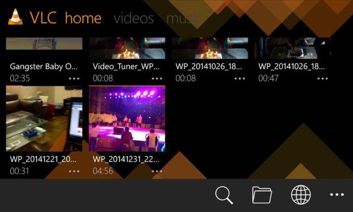 VLC dark