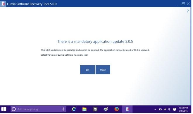lumia software recovery tool 5.0.0.18 для windows xp