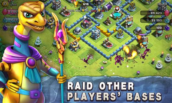 raid of dino