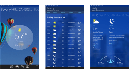 The Weather Channel app for Windows Phone updated with new
