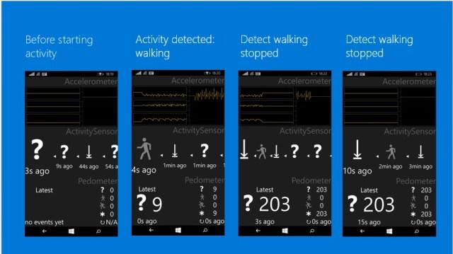 Windows 10 activity detection