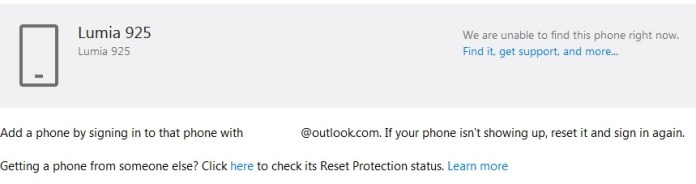 reset protect
