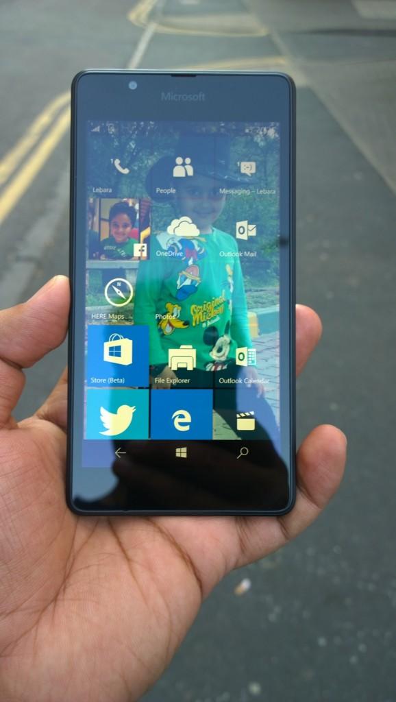 Lumia 640 NPU