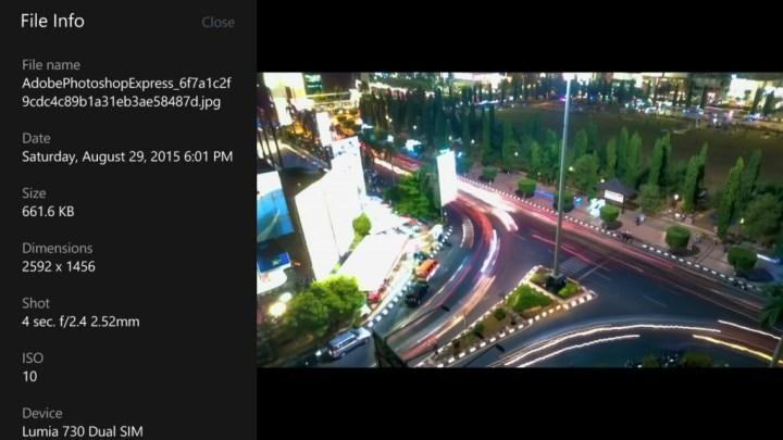 Lumia 730 mod camera