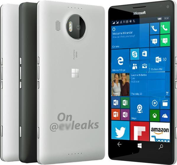 Lumia 950 XL white