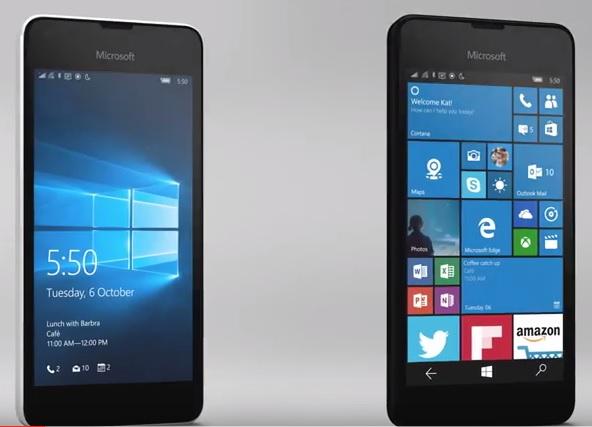 Lumia 550 image