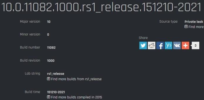 Build 11082 Mobile
