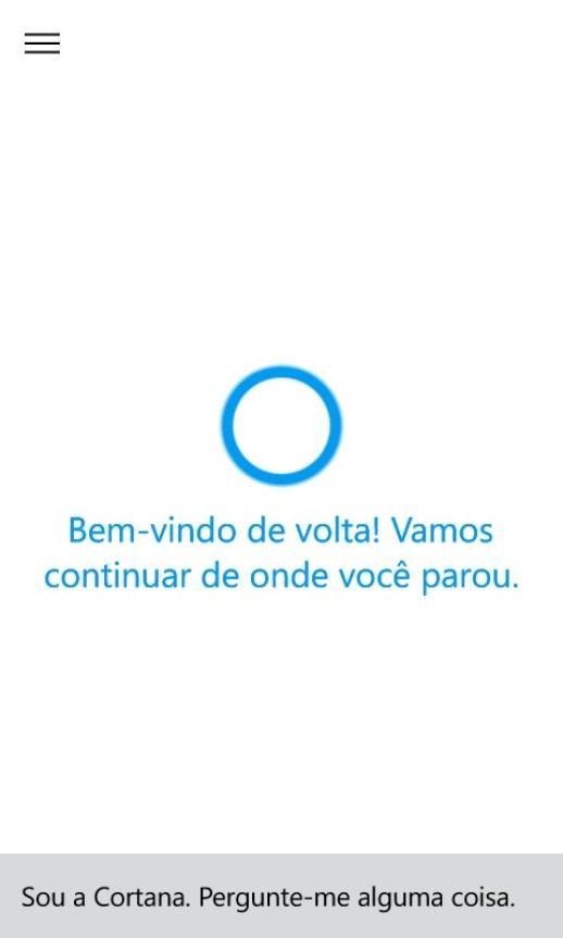 Cortana-em-portugues