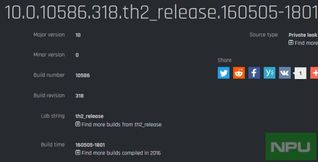 Build 10586.318