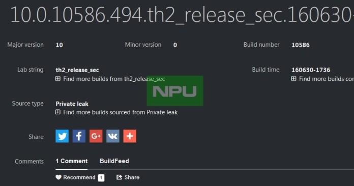 Build 10586.494