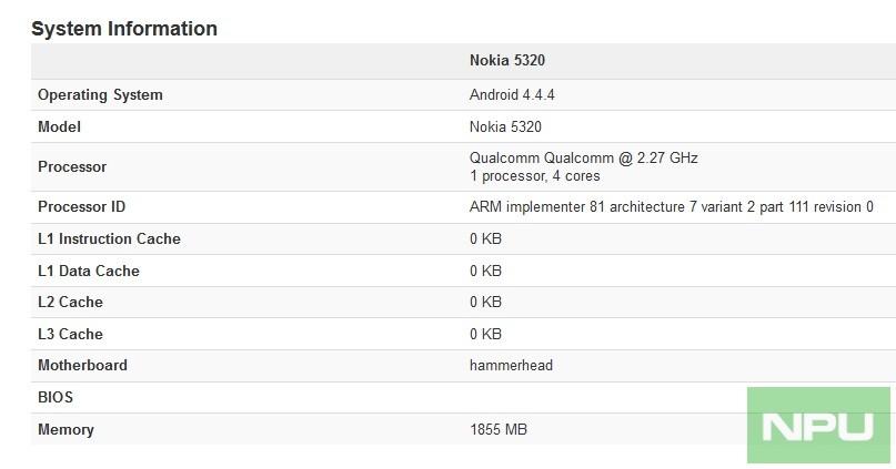 Nokia 5320 Android