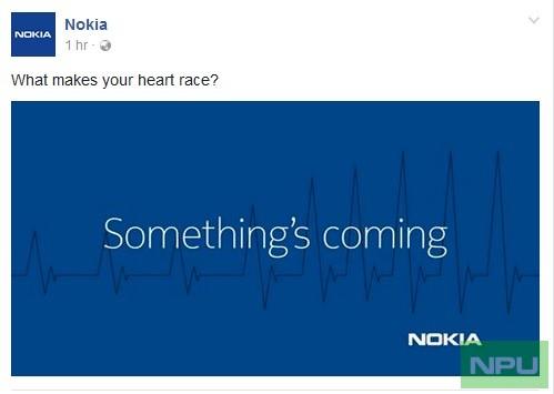 Nokia Teaser Facebook