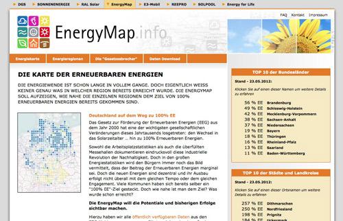 Screenshot Energymap