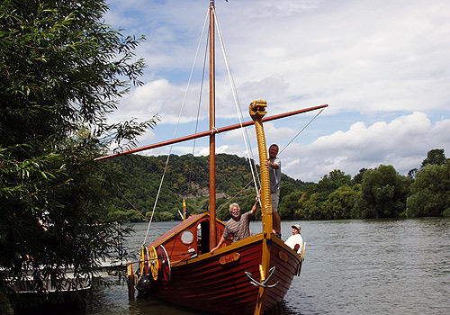 500 Wikingerschiff