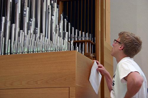 Orgel riechen