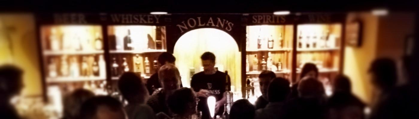 Die Bar im Nolan's