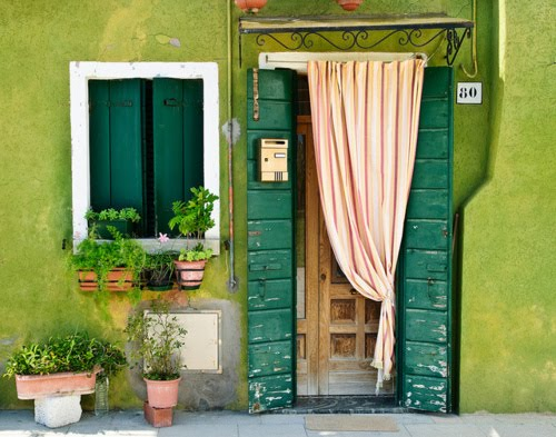 Shades of Green, Burano, Italy