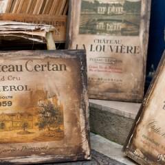 Vintage wine labels (454F23004)