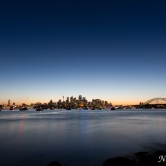 Sydney Harbour sunset (454F24711)