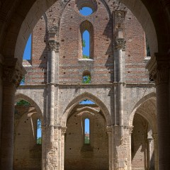 Ruins of Abbey of San Galgano, Tuscany (454F28236)