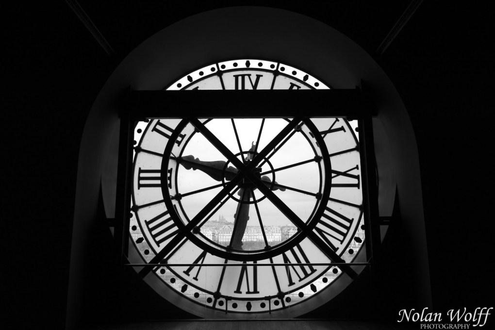 Station clock at the Musee d'Orsay (454F34281)