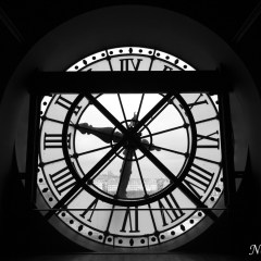 Station clock at the Musee d'Orsay (454F34281)