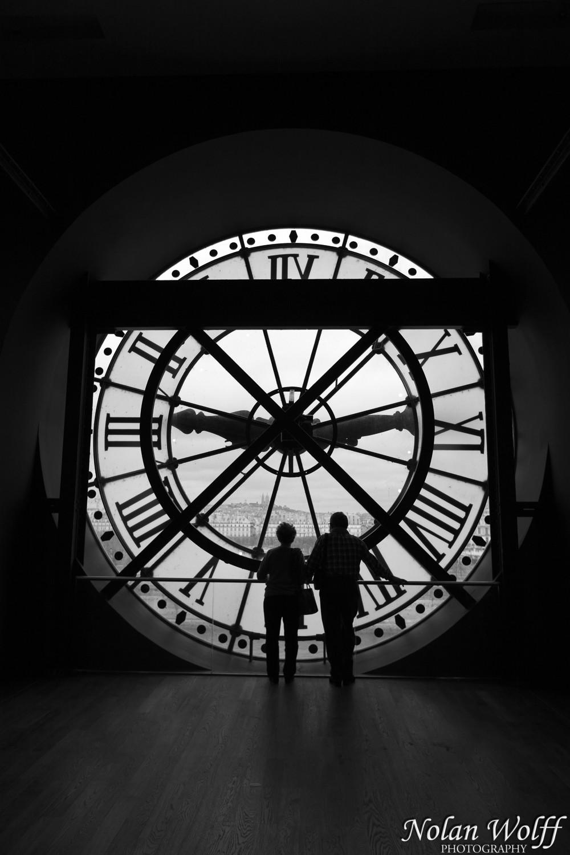 Station clock at the Musee d'Orsay (454F34327)