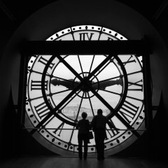 Station clock at the Musee d'Orsay (454F34327)