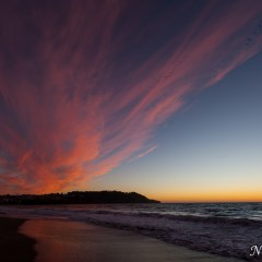 Fire sky sunset at Baker Beach (454F39541)