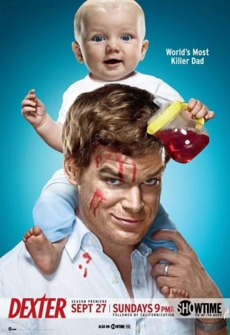 Dexter poster cuarta temporada