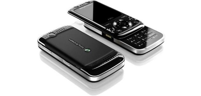 Sony Ericsson F305 en negro