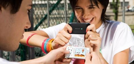 Jugando con el Sony Ericsson F305