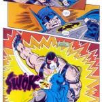 bane vs batman Knightfall p19