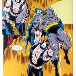 bane vs batman Knightfall p20