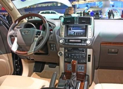 Prado 2010 consola