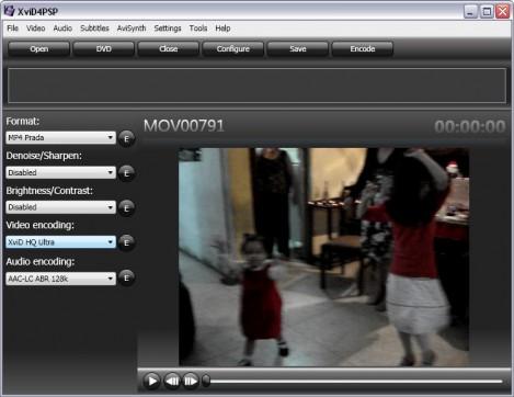 Selecciona formato y codec de video