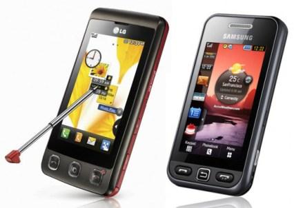 LG KP570 vs Samsung S5230