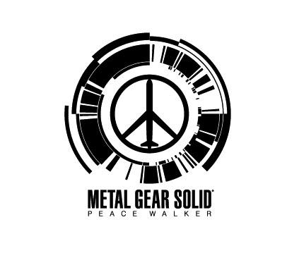 metal gear solid peace walker logo