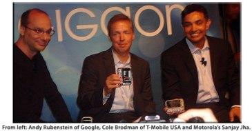 Motorola Mobilize presentadores