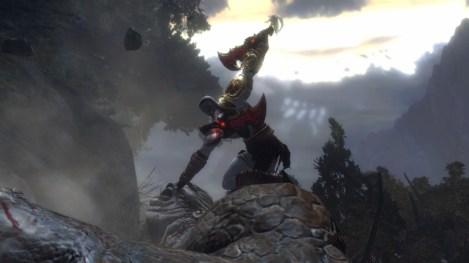 kratos sobre troll
