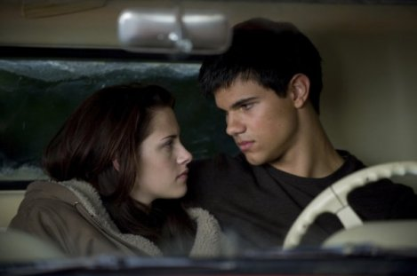 twilight new moon Kristen Stewart y Taylor Lautner