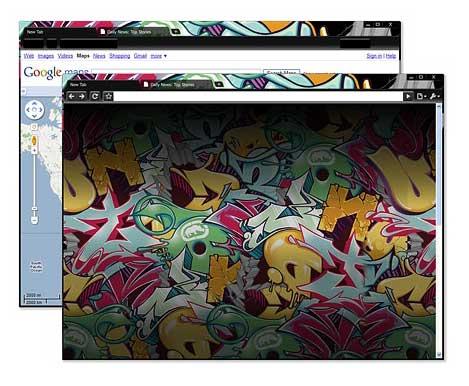 Google Chrome Artist Themes title
