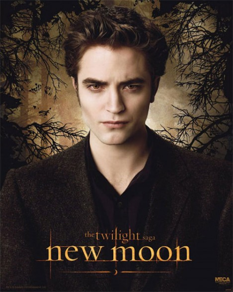 Edward New Moon Twilight poster