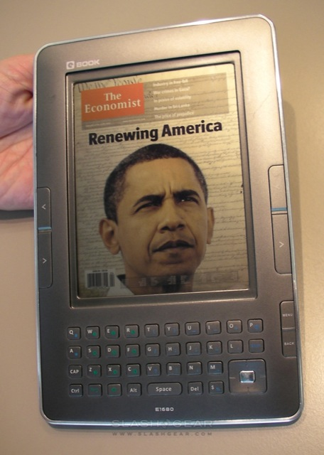 Qualcomm Mirasol ebook reader - prototipo 2